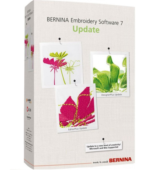 Обновление Bernina Designer Plus 5/6 до V7.0