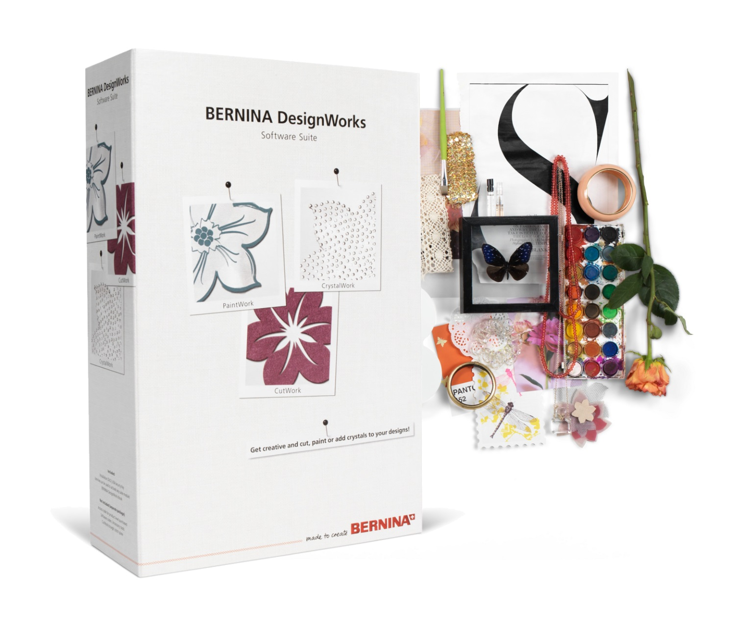 Программное обеспечение Bernina Design Works Software Suite