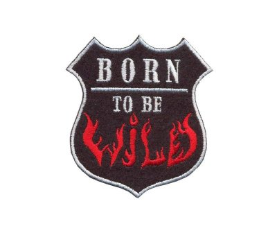 Нашивки «Born to be wild»
